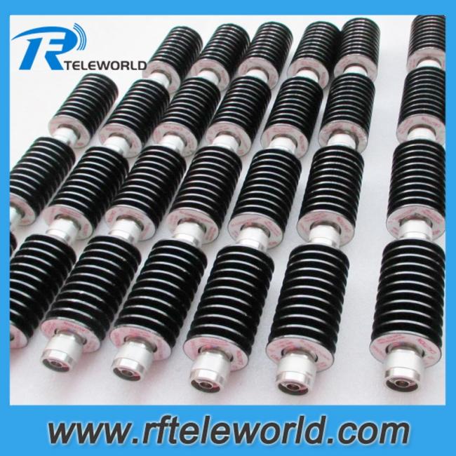 50W RF coaxial attenuator,coax attenuator 1-50dB 3GHz 4GHz 6GHz 10GHz 12GHz 18GHz