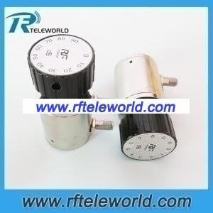 2W SMA knob Manually variable 1db step attenuator 10dB 6Ghz