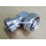 7/16 DIN Male to 7/16 DIN Female Right Angle Connector Adaptor