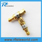 2W SMA fixed attenuator 1-30dB 18GHz 50ohm