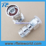 4.3-10 Mini DIN Female to N male coaxial Adapter