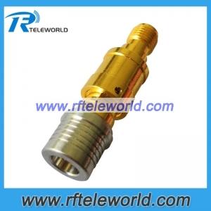 2W QMA to SMA coaxial fixed attenuator 1db.2db.3db.5db.6db.10db.15db.20db.30db DC-6GHz 50ohm
