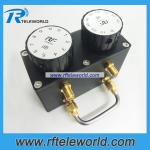 50ohm SMA knob variable attenuators 6GHz step attenuators 80dB