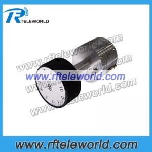 50ohm SMA 90dB Adjustable attenuator 18GHz stepped attenuators