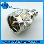 UHF Male to BNC female adapter rf connector