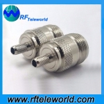 N Female Connector For LMR200 LMR195 Cable Crimp Style