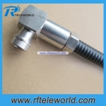 QN right angle male connector  for 3/8 super flexible cable
