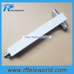 Low PIM 4.3/10 MINI DIN 2 way Power Divider Power Splitter 698-2700MHz