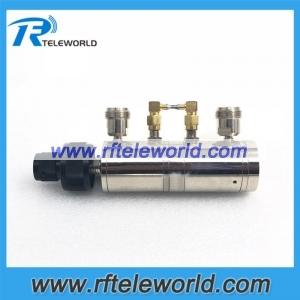 100dB N knob variable attenuators 6GHz step attenuators 50ohm