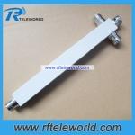 Low PIM 4.3/10 MINI DIN 3 way Power Divider Power Splitter 698-2700MHz