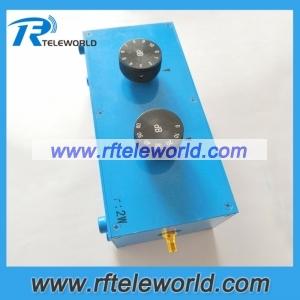 50ohm SMA 70dB 100dB Adjustable attenuator 3GHz 4GHz 6GHz variable attenuators