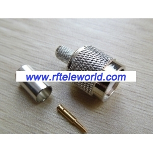 TNC Male Connector For LMR240  Crimp style