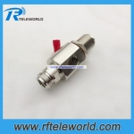 Coaxial anttenna Lightning protector(Surge Arrester) DC 3000Mhz N female to female bulkhead