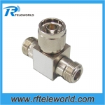 1W 2way resistive power divider splitter 18GHz 50ohm N male to two N Female