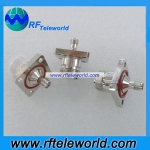 SMA female to N female Flange adapter SMA to N adapter 6Ghz RF coaxial adapter