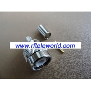 TNC Male Connector For LMR200 Crimp style