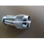 UHF Male Connector For RG213 Cable Clamp style