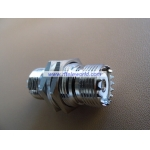UHF Female to UHF Female Bulkhead Adaptor