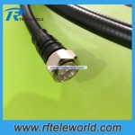 China factory customized rf MINI DIN 4.3-10 Male to 4.3/10 male Connector for 1/2 SuperFlexible jumper cable