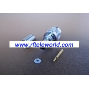 TNC Male Crimp Connector For LMR300 Cable