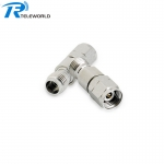 2W 2.4mm stainless steel coaxial fixed attenuator 1-30dB 50GHz 50ohm