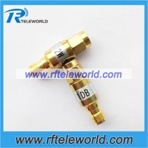 2W SMA fixed attenuator 1-30dB 18GHz 50ohm