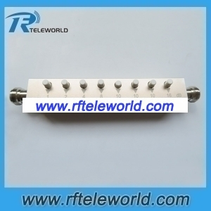 60db Manually stepped variable attenuators N female to female keypress attenuator 50ohm