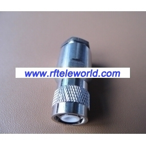 TNC Male Connector For LMR400 Clamp Style