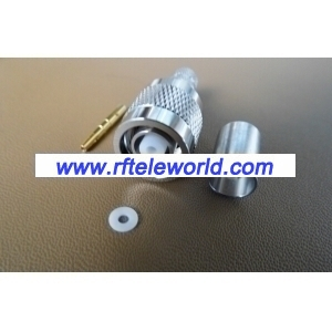 TNC RP-Male Crimp Connector For LMR300 Cable