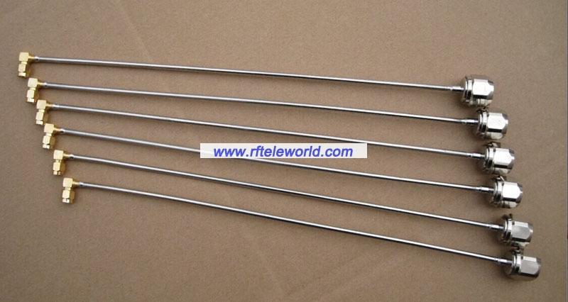 Semi Rigid Cable Assemblies : Semi rigid cable assembly rf coaxial assemblies